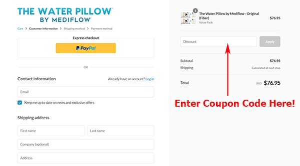pillow mediflow discount