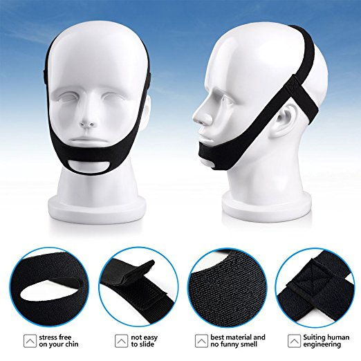 Gfine Stop Snoring Chin Strap