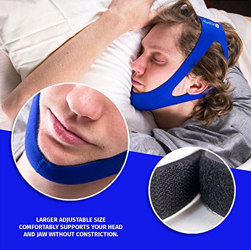 Sleep Well Pro Snoring Chin Strap
