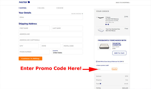 Nectar Sleep Mattress Coupon